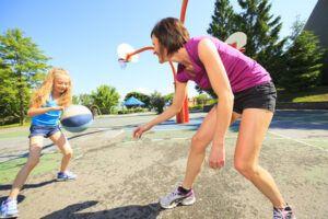 Osteoporoza a aktywność fizyczna - gra w koszykówkę